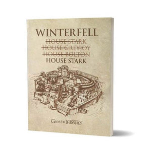House of Winterfell  - Game Of Thrones Fan Printed Notebook