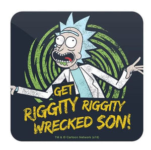 Get Wrecked  - Rick And Morty Coaster