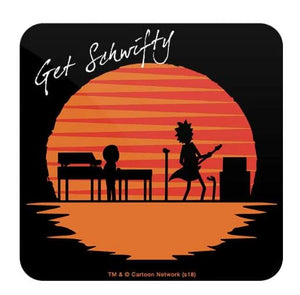 Get Schwifty  - Rick And Morty Coaster
