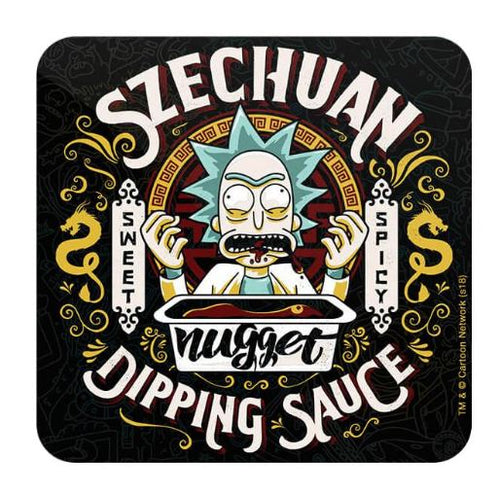 Grandpa's Dipping Sauce  - Rick And Morty Coaster