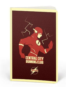The Flash: Running Club- DC Heroes Fan Printed Notebook
