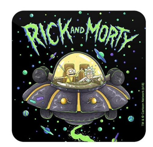 Space Cruiser  - Rick And Morty Coaster