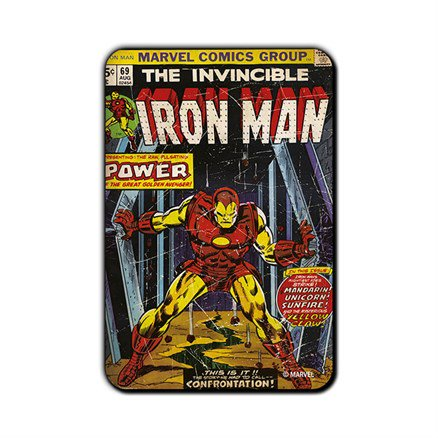 The Invincible Iron Man- Marvel Fridge Magnet