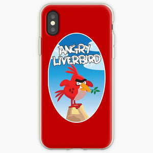 Angry Liverbird - Angry Birds Mobile Phone Cover