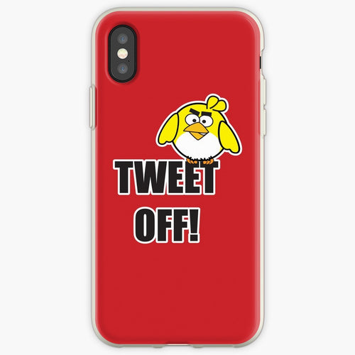Tweet Off - Angry Birds Mobile Phone Cover