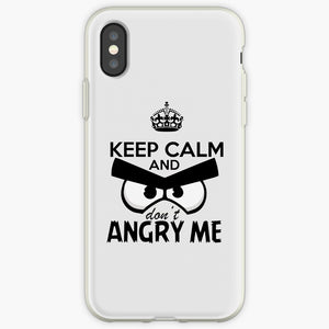 Keep Calm and Don't Angry Me - Angry Birds Mobile Phone Cover