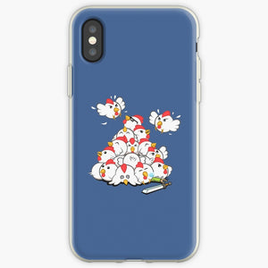 Bird Flock - Angry Birds Mobile Phone Cover