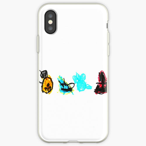 Hand Drawn Birds - Angry Birds Mobile Phone Cover