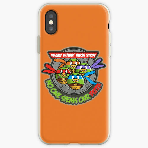 Angry Mutant Ninja Birds - Angry Birds Mobile Phone Cover