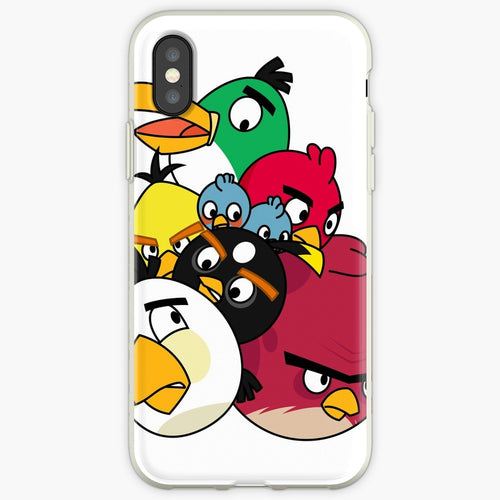 All the Birds - Angry Birds Mobile Phone Cover