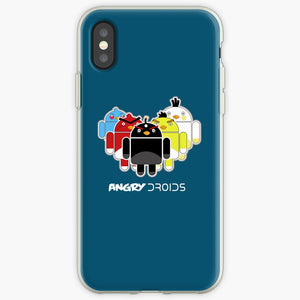 Angry Droids - Angry Birds Mobile Phone Cover