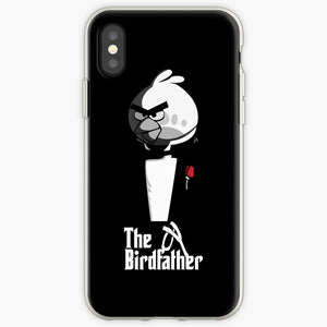 The Birdfather - Angry Birds Mobile Phone Cover