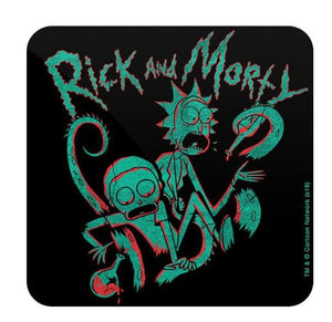 Rick's Lab - Rick And Morty Coaster