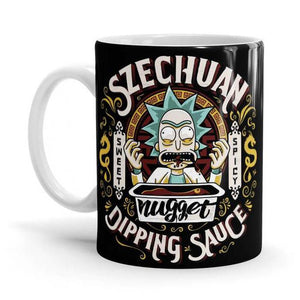 Grandpa's Dipping Sauce - Rick and Morty Fan Printed Mug