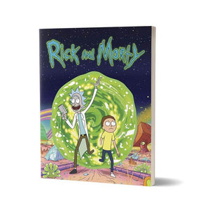 Ricksy Business   - Rick and Morty Fan Printed Notebook