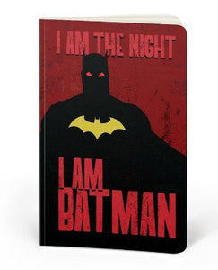 Batman: I Am The Night - DC Heroes Fan Printed Notebook