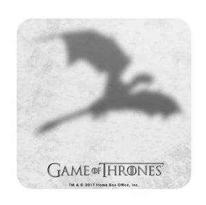 Dracarys- Game of Thrones Fan Printed Coaster
