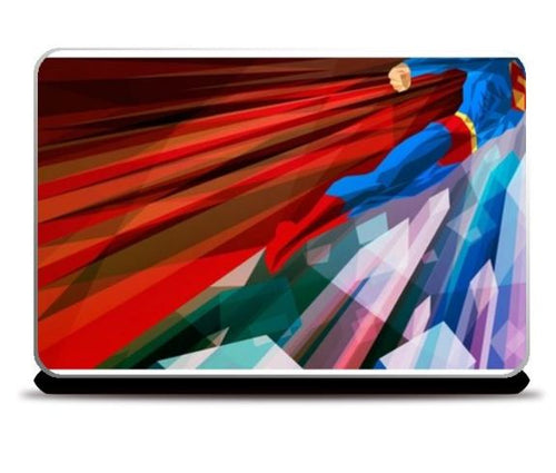 SUPERMAN ABSTRACT LAPTOP SKINS