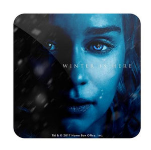 Daenerys Targaryen: Winter Is Here- Game of Thrones Fan Printed Coaster