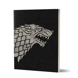 House Stark Sigil Design- Game Of Thrones Fan Printed Notebook
