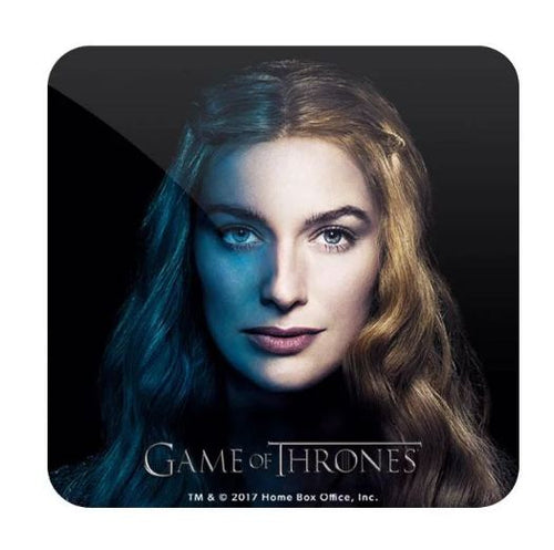 Cersei Lannister- Game of Thrones Fan Printed Coaster