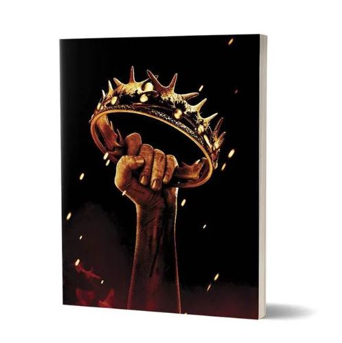 The Crown  - Game Of Thrones Fan Printed Notebook