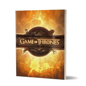 Opening Sequence- Game Of Thrones Fan Printed Notebook