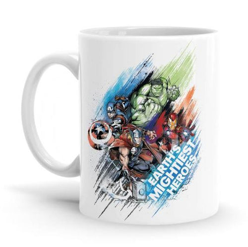 Earth's Mightiest Heroes - Marvel Mug