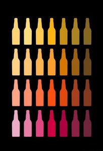 CHILLED BEER BOTTLES- Wall Art