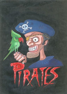 PIRATES PAINTING- Wall Art