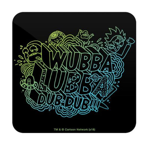 Wubba Lubba Dub Dub  - Rick And Morty Coaster