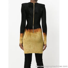 Load image into Gallery viewer, Balmain Fire Dress AW17