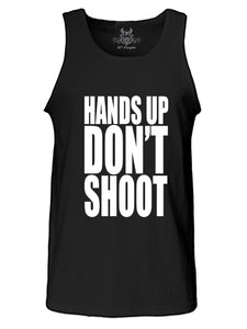 Hands Up Don't Shoot Graphic Print Tank Top
