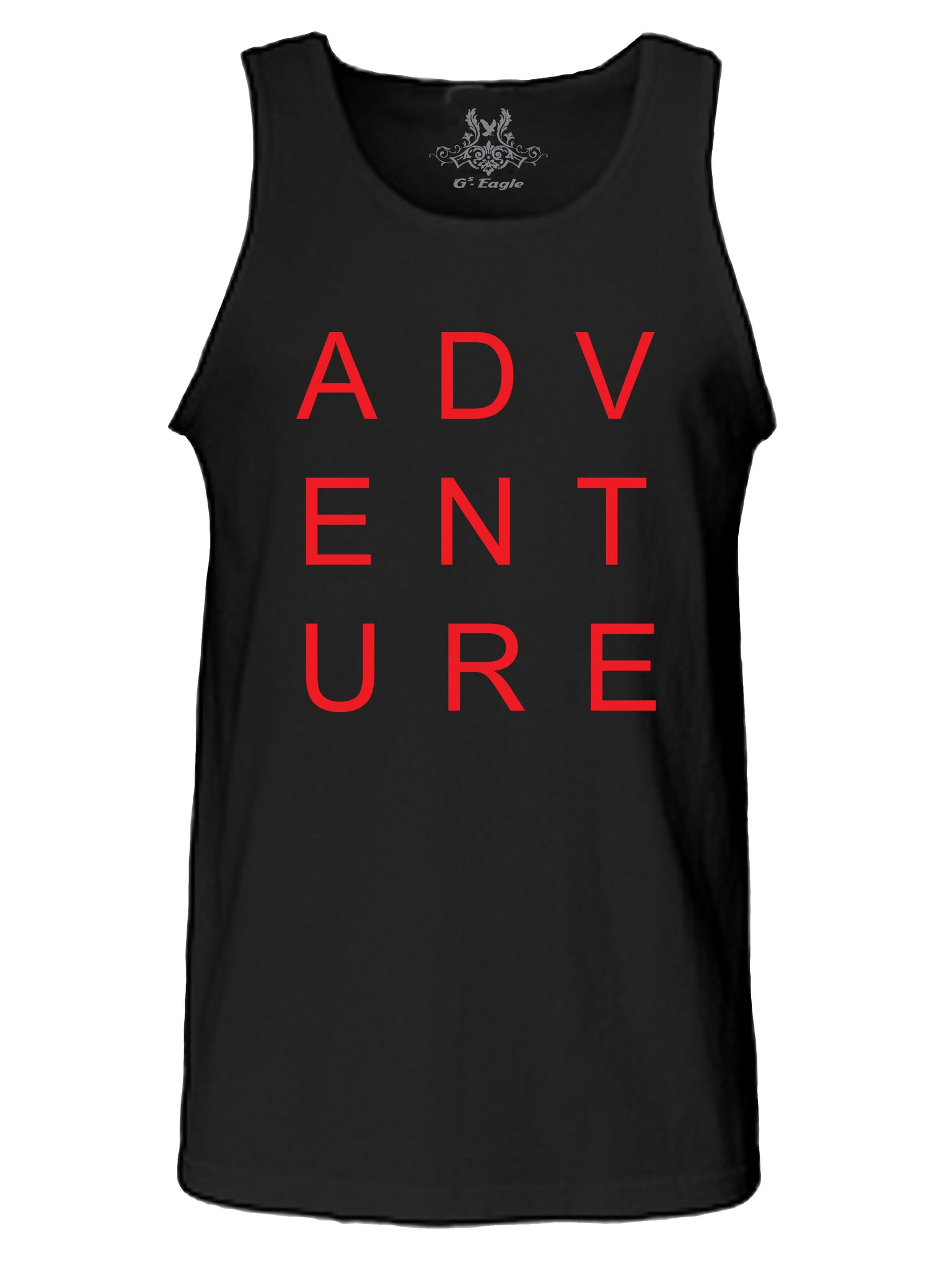 Adventure Graphic Print Tank Top