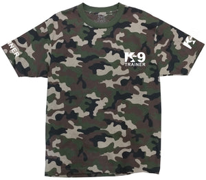 USA K-9 TRAINER Camo T-Shirt