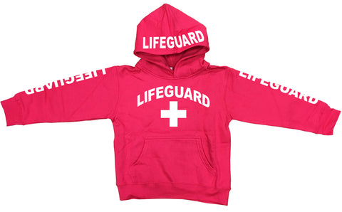 LifeGuard Neon Kids Fleece Hoodies