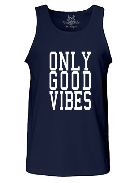 Only Good Vibes Graphic Print Tank Top