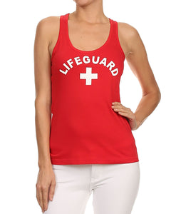 Lifeguard Womens Tanktop