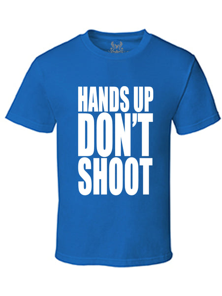Hands Up Don't Shoot Graphic Print T-Shirt