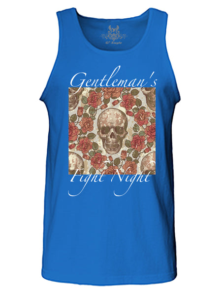 Gentlemen's Fight Night Digital Print Tank Top