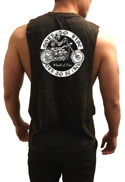 Born to Ride Muscle Tank