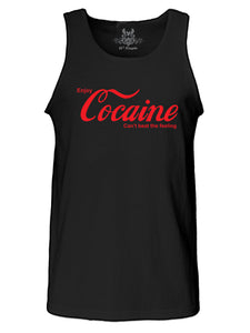 Cocaine Graphic Print Tank Top