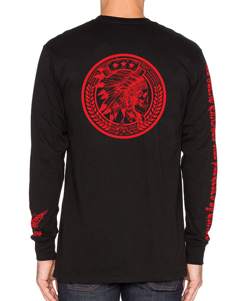 Tribal Sign Long Sleeve Shirt