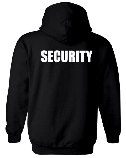 Security Uniform Fleece Hoodie