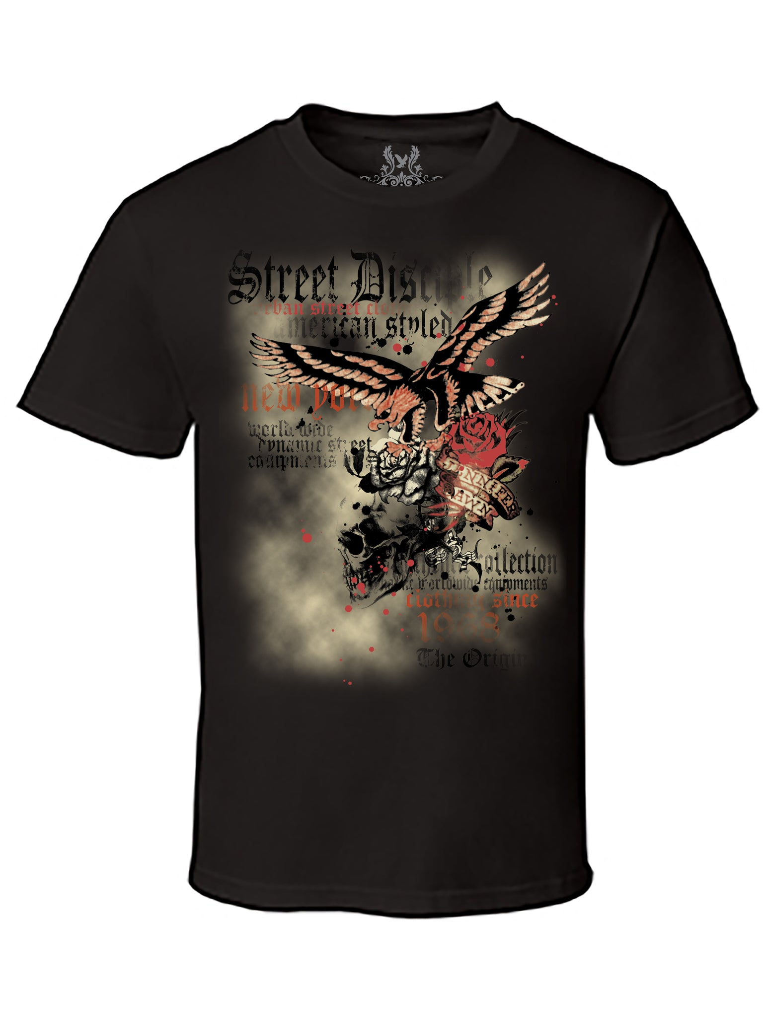 Street Disciple Eagle Digital Print T-Shirt
