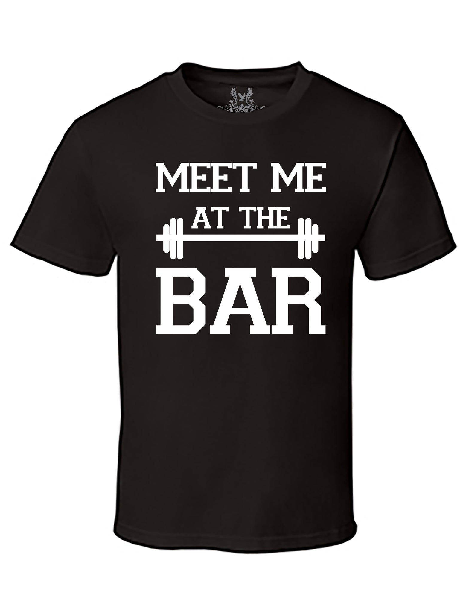 Meet Me At The Bar Graphic Print T-Shirt
