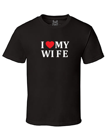 I <3 My Wife Graphic Print T-Shirt