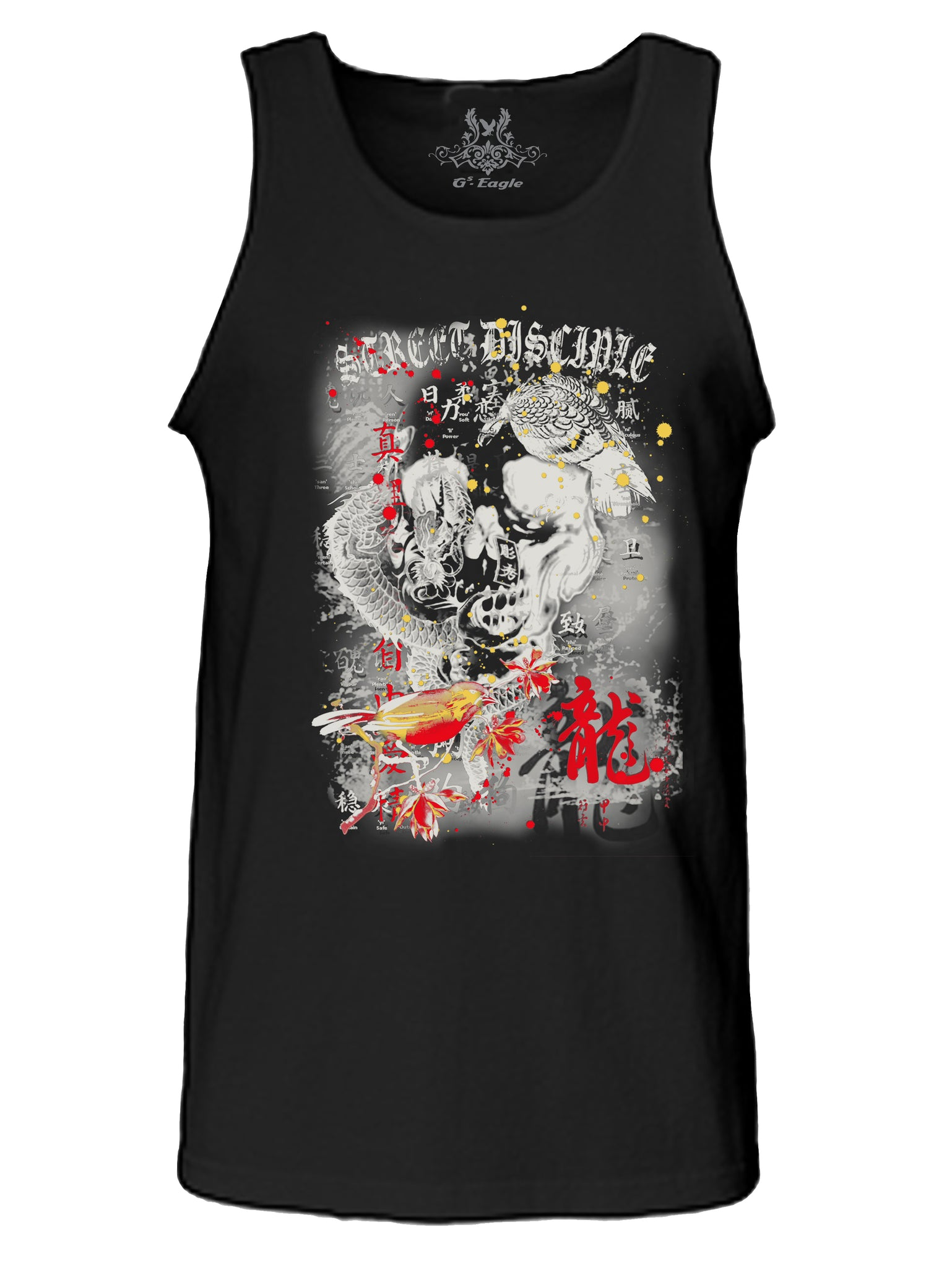 Street Disciple Digital Print Tank Top
