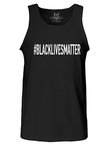 #BlackLivesMatter Graphic Print Tank Top