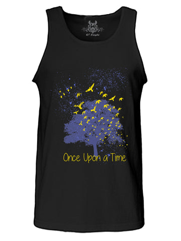 Once Upon A Time Digital Print Tank Top